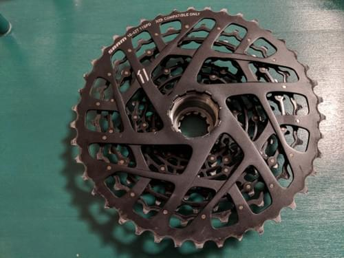 Sold - 11 Speed Sram XD Cassette