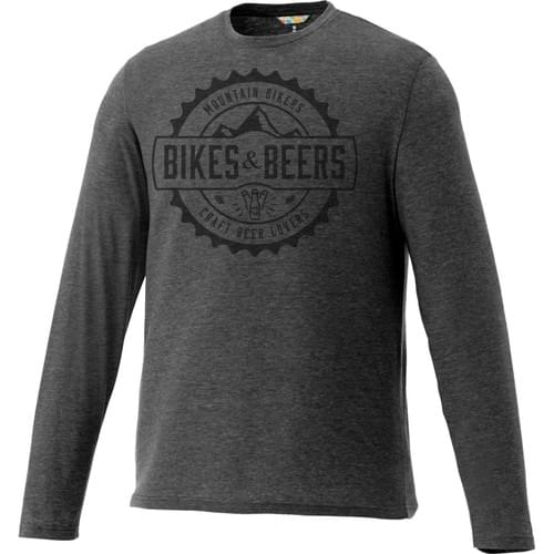 Bikes and Beers Premium Short Sleeve Tee (charcoal)