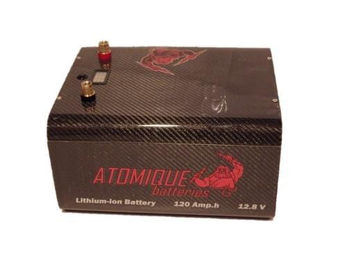 Batterie Carbon Custom Lithium-ion 12V - 20Ah à 160Ah