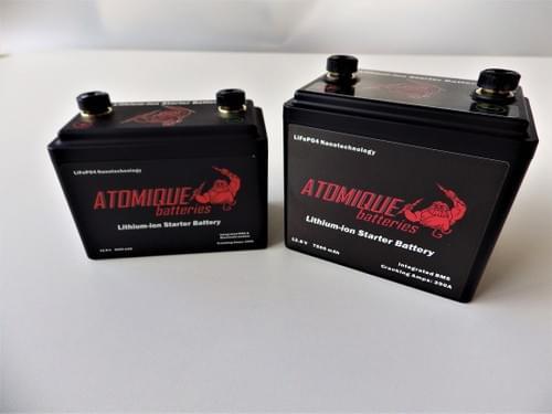 Batterie Moto Lithium-ion 12.8V - 5Ah et 7,5Ah *Offre spéciale Confinement -30%*
