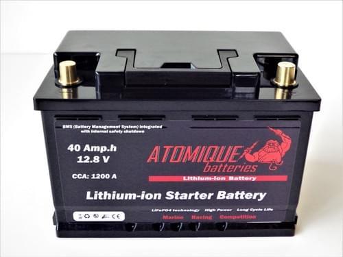 Batterie de démarrage Lithium-ion 12V  -  20Ah et 40Ah