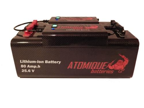 Batteries Carbon Custom Lithium-ion 24V ou 48V - 160Ah (4.10kWh) à 400Ah (10.24kWh) de capacité