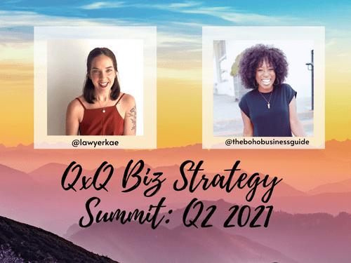 Biz Strategy Summit Q2 2021 Ticket