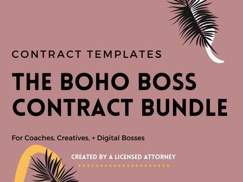 The Boho Boss Contract Bundle