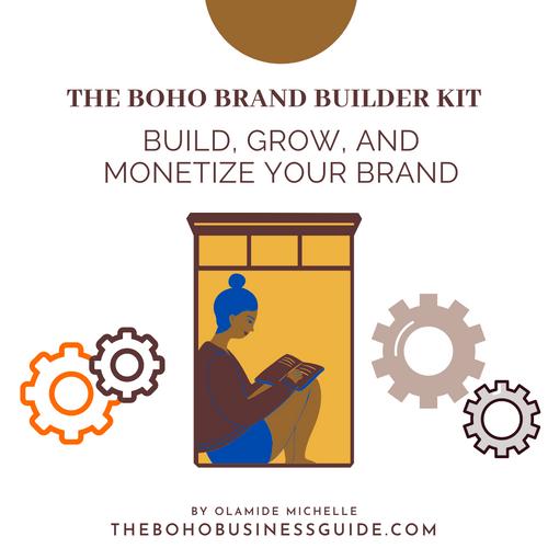The Boho Brand Builder Kit