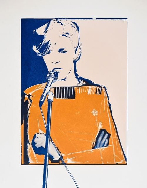 Bowie Screenprint