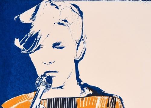 Bowie Screenprint
