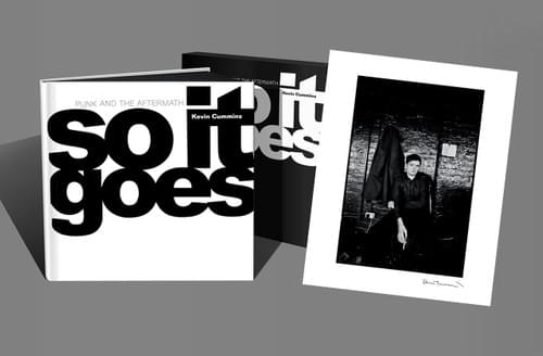 Copies 1-10 (from edition of 300) . 'So It Goes' with limited edition Ian Curtis print.