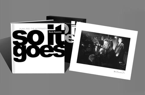 Copies 11-300 (from an edition of 300) 'So It Goes' with limited edition  Sex Pistols print.