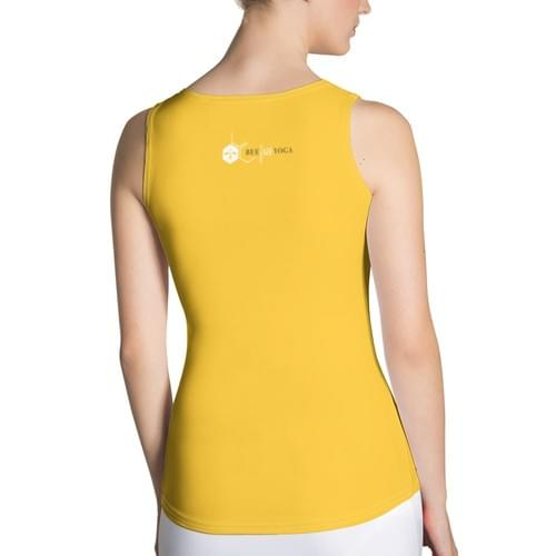 Bee Free Yoga Tank Top - FREE SHIPPING