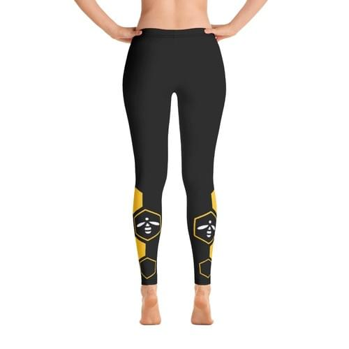 Black Bee Free Yoga Leggings - FREE SHIPPING