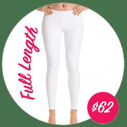 Custom Designed Leggings - Full Length