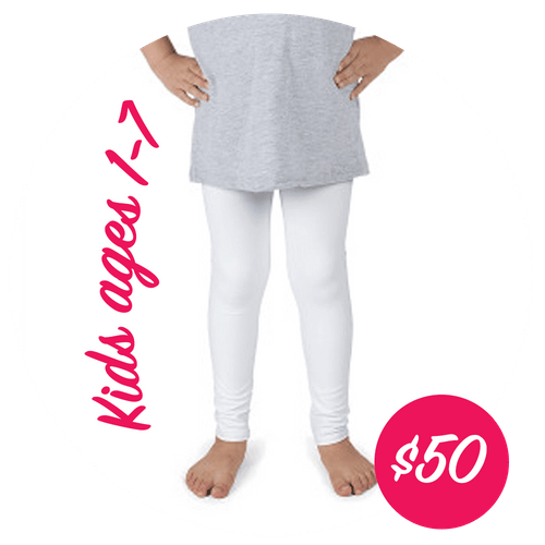 Custom Designed Leggings - Kids 1yr-7yr