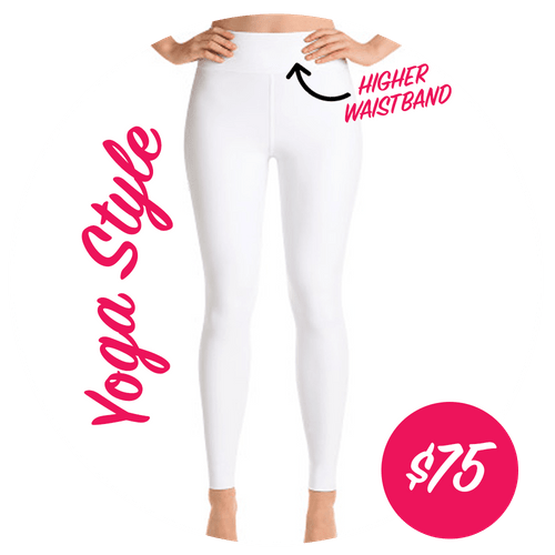Custom Designed Leggings - Yoga Style