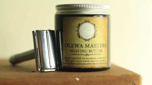 OLEWA SHAVING BUTTER! -(Unisex)