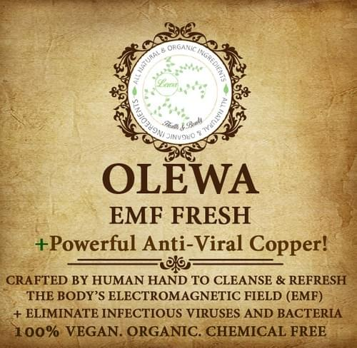 OLEWA EMF FRESH Spray! -100% organic