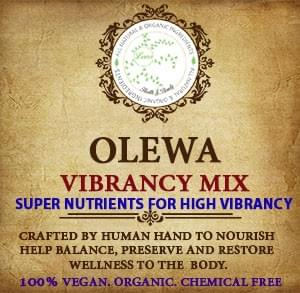 OLEWA VIBRANCY MIX (100% VEGAN, ORGANIC)