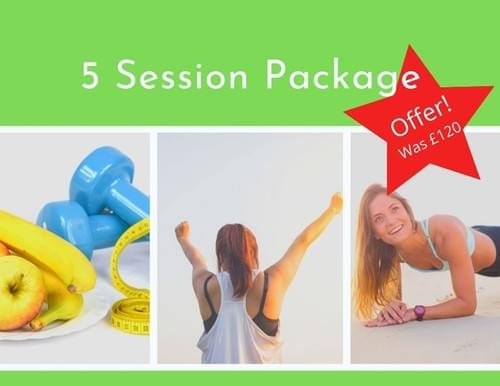 5 Session Package
