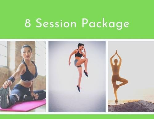 8 Session Package