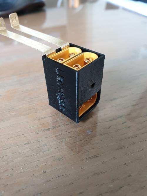 V2 with 3 XT60 connectors Mavic 2 zoom battery mod adaptor clip