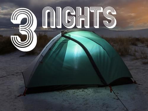 Camping - 3 Nights