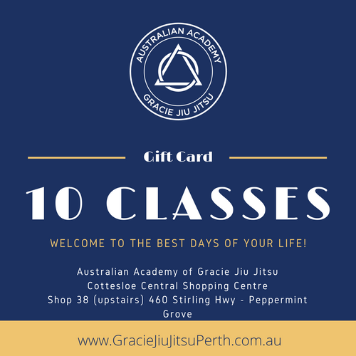 10 Group Classes Gift Card