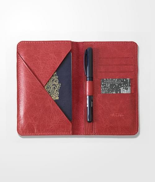 Étui passeport (porte-passeport) DAVID