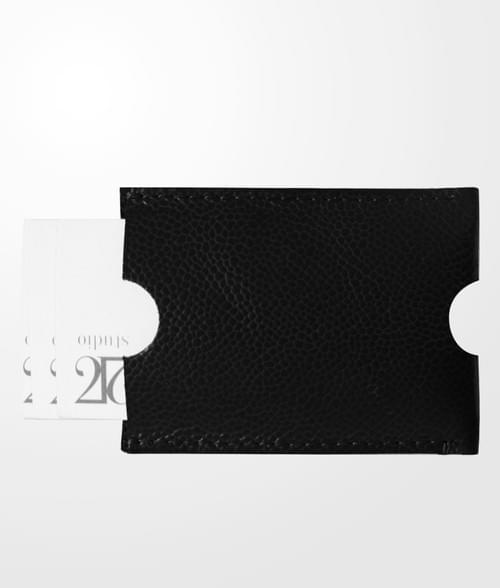 Porte cartes en cuir - Sergio