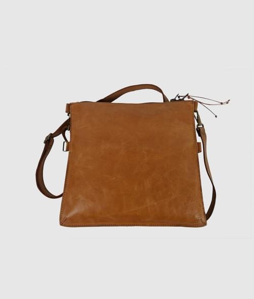 Crossbody Leather Bag - Natalie