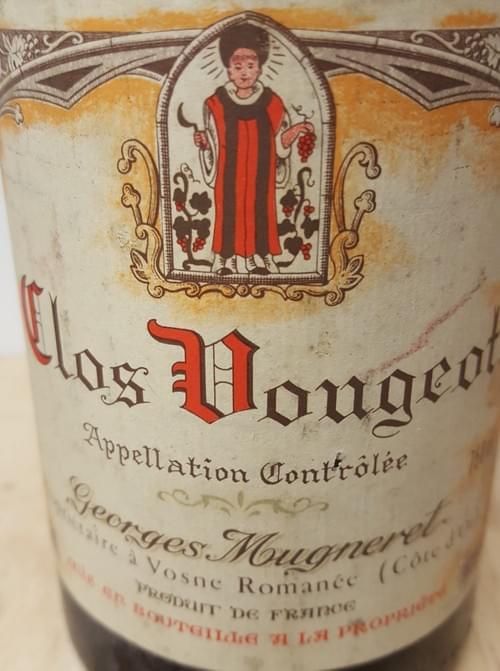 Clos de Vougeot Georges Mugneret 1984