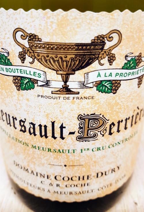 Meursault Perrières Domaine Jean-François Coche-Dury 2012