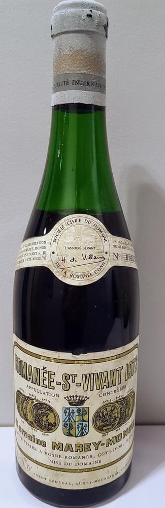 Romanée Saint Vivant Domaine de la Romanée Conti 1972