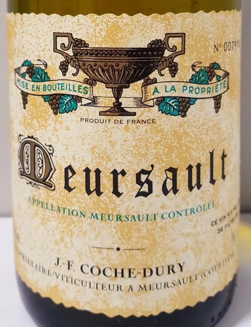 Domaine JF Coche Dury Meursault 2001