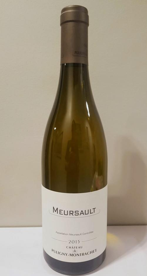 3 bouteilles de Meursault 2015 Chateau de Puligny à 40 euros par bouteille