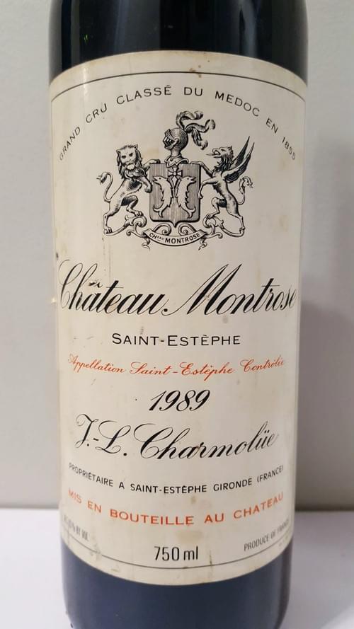 Chateau Montrose 1989