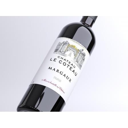 12 bouteilles de Margaux Château le Coteau 2014 - 18 euros par bouteille, livraison incluse