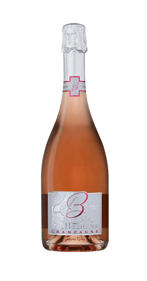 12 bouteilles de Champagne Beerens Brut Rosé à 29,50€