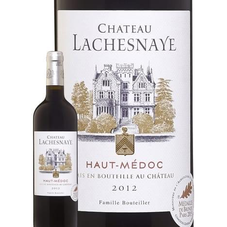 12 bouteilles de Château Lachesnaye 2015 Haut Médoc à 11 €
