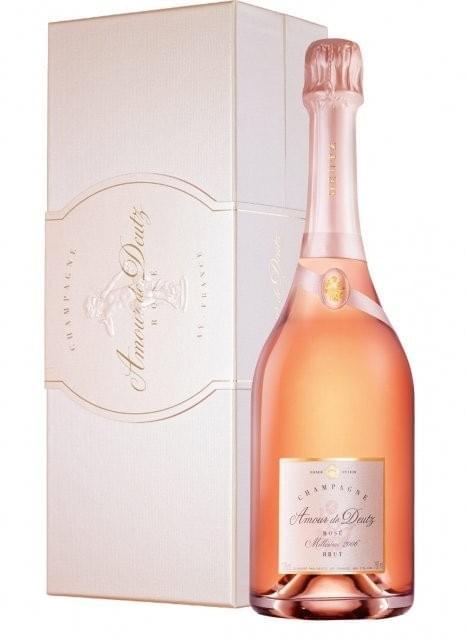 12 bouteilles de Champagne Deutz Brut Rosé à 44€