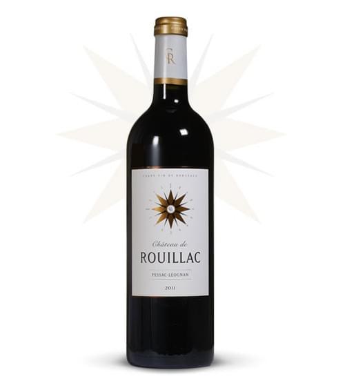 12 bouteilles de Château de Rouillac 2011 à 18,5€ au lieu de 25€