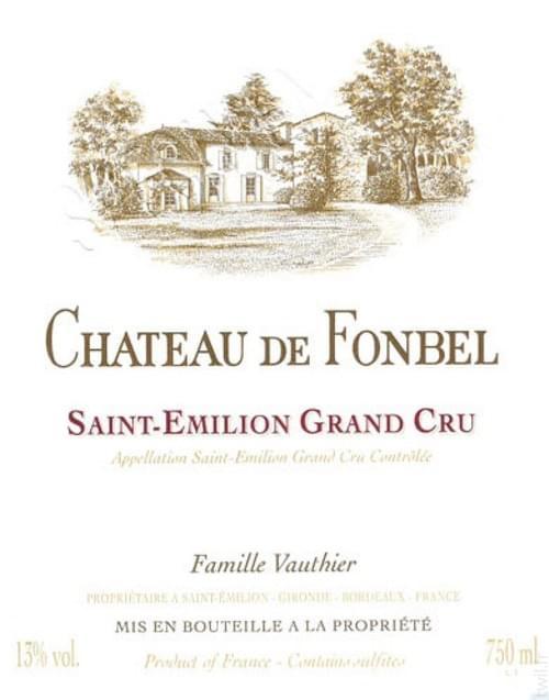 12 Bouteilles de Château de Fonbel 2014 à 16,90€ par bouteille