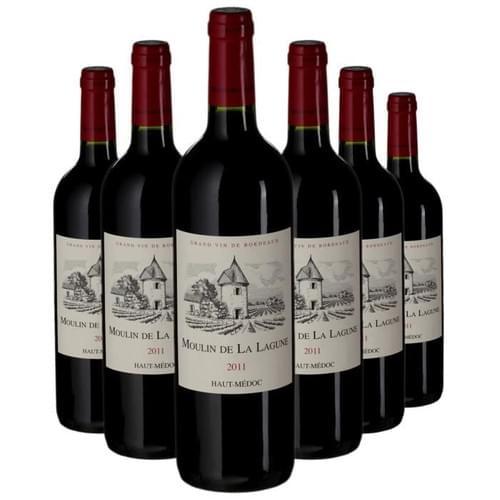 6 bouteilles du Moulin La Lagune 2013 à 22 € au lieu de 27€ !