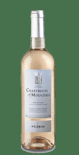 24 bouteilles Le Pélerin rosé 2017 de la Chartreuse de Mougères à 6,5€ au lieu de 7,9€