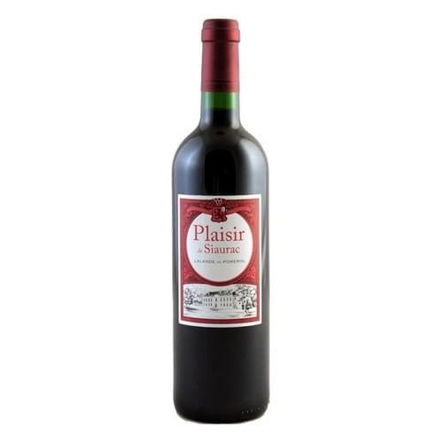 6 bouteilles de Plaisir de Siaurac 2014 à 11€ par bouteille