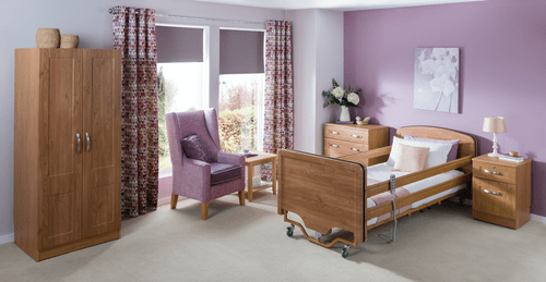 Carer 1000 Bed 3ft Wide Extra Low Height