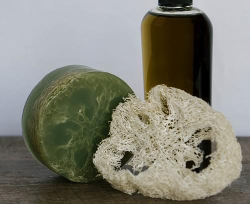 Hemp Estropajo Jabon con Aceite de Semilla de Cañamo Eco-Friendly Excelente Exfoliación 10 Piezas MN