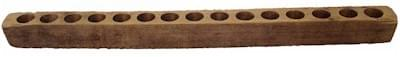 Piloncillo Wood Molds 2, 4, 6, 8 , Holes Authentic Wood
