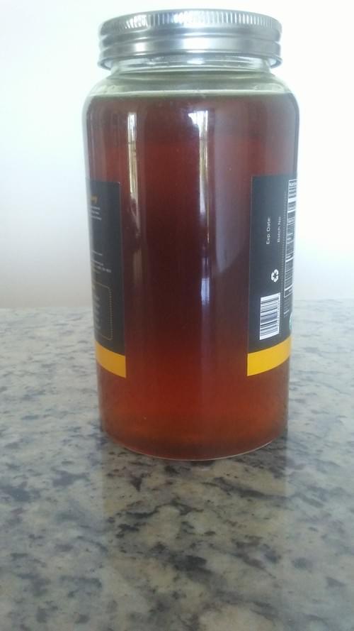 Melipona Honey Reddish 100% Pure 16 fl.oz Get FREE 1 fl.oz dropper