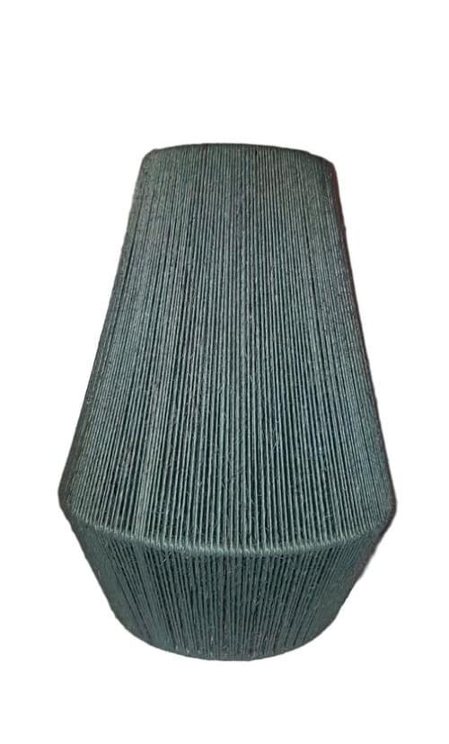 "Sisal Lamp Shade Handmade Cancun Model 12"" / 16"""