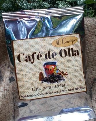 Piloncillo Cafe de Olla Ready to Use and Serve. 100% Organic 2 lbs Bag / 24 lbs carton